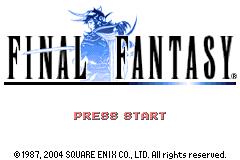 Final Fantasy 1 + 2 - Dawn of Souls # GBA-0