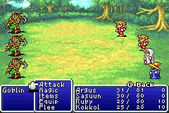 Final Fantasy 1 + 2 - Dawn of Souls # GBA-2