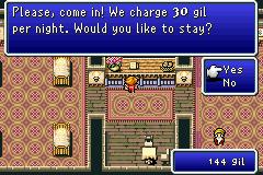 Final Fantasy 1 + 2 - Dawn of Souls # GBA-5